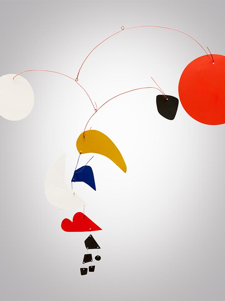 moving hanging artwork
